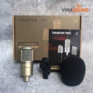 Trọn bộ micro thu âm Takstar PC-K200 | Ảnh: Vinasound.vn