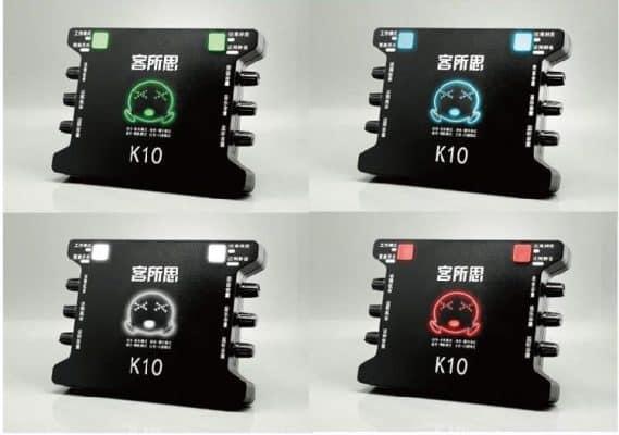 các chế dộ của sound card xox k10