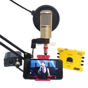 combo hát live XOX K10 + Takstar PC-K200