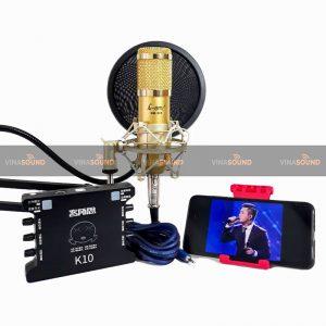 combo micro thu âm AMI BM900 + XOX K10