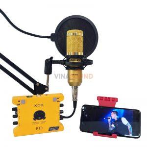 Combo hát live K10 Woaichang BM900 | Ảnh: Vinasound.vn