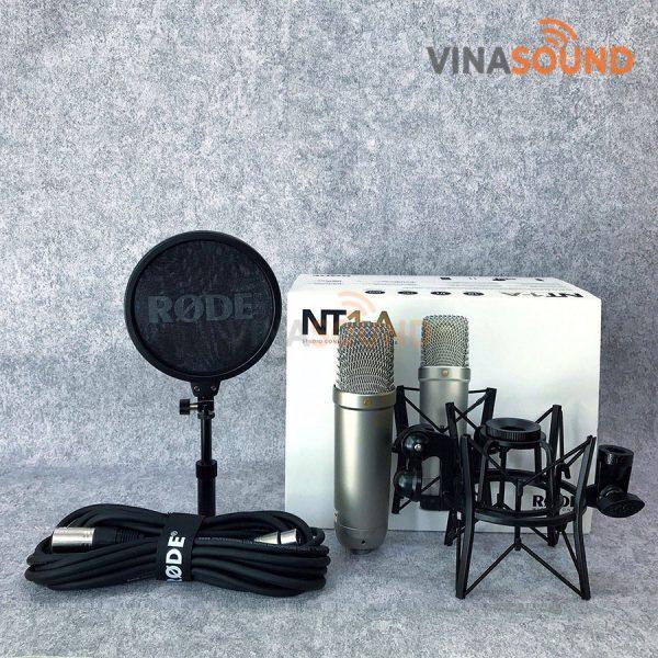 Trọn bộ micro phòng thu Rode NT1-A | Vinasound.vn