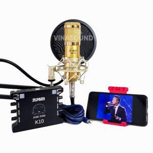 Combo hát live AMI BM900 và XOX K10