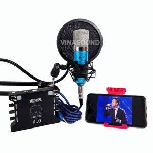 Combo hát live ISK AT100 và XOX K10
