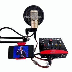 Combo hát live K200 và Icon Upod Pro