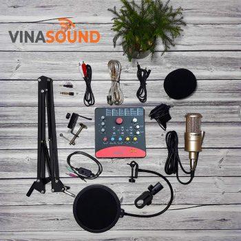 combo micro thu âm k200 icon upod pro
