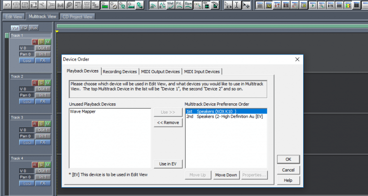 phần mềm thu âm không nhận sound card k10