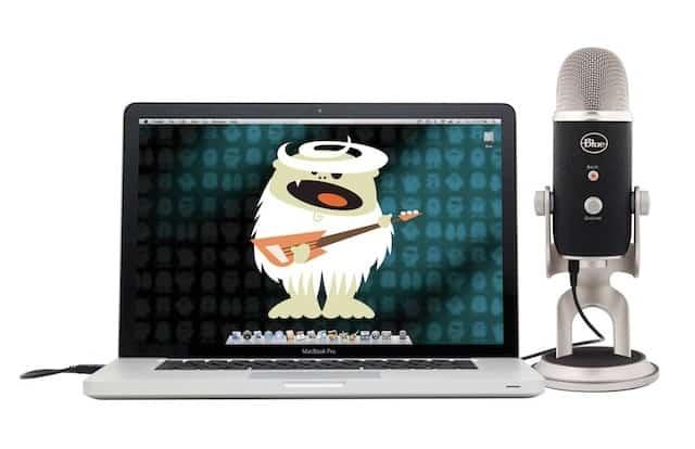 micro thu âm cho Macbook