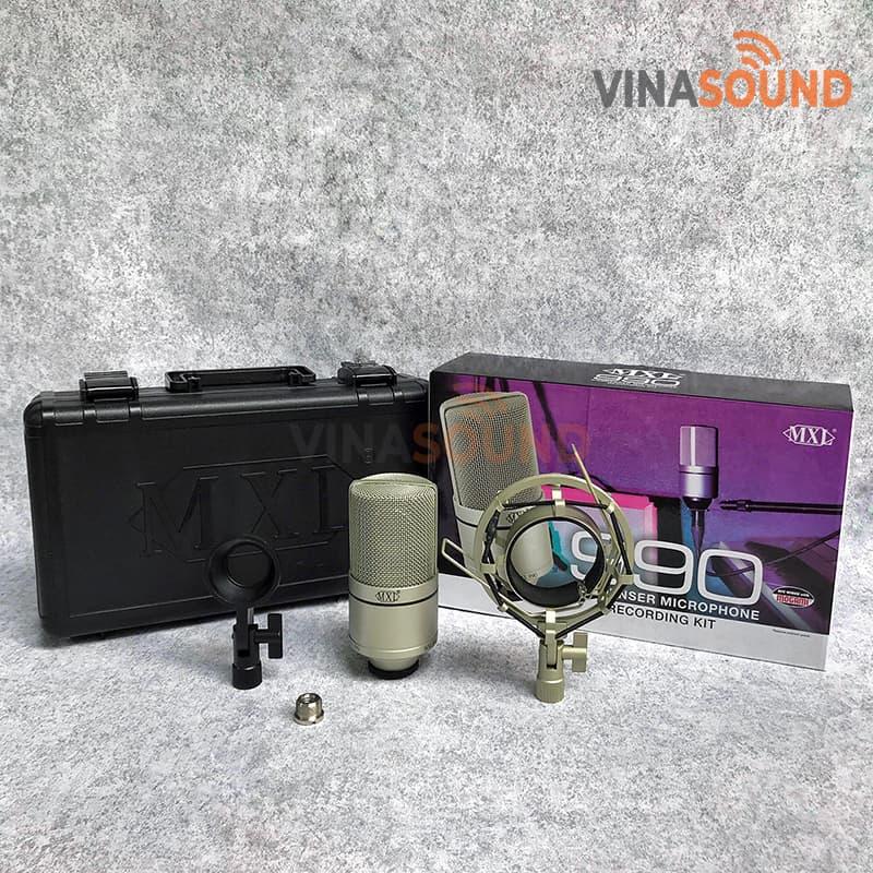 Trọn bộ MXL990  Ảnh: Vinasound.vn