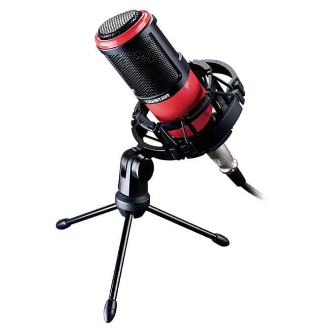 micro thu âm takstar pc k320 màu đen đỏ
