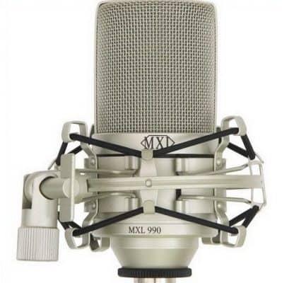 micro thu âm mxl 990