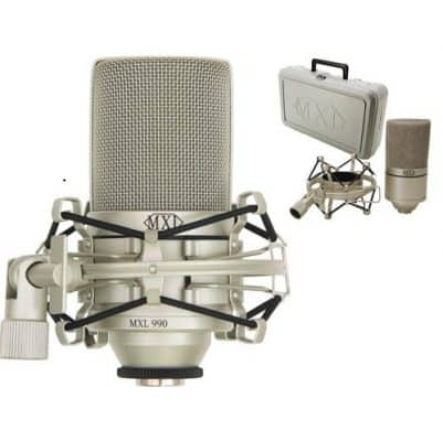 trọn bộ micro thu âm MXL 990
