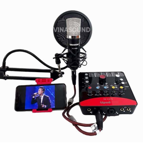 Combo hát live K600 và Icon Upod Pro