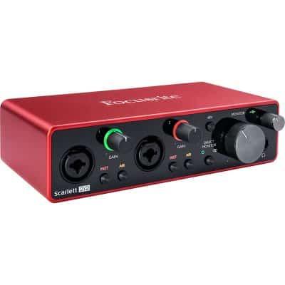 Soundcard Focusrite Scarlett 2i2 Gen3