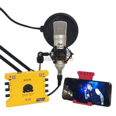 Combo hát live K10 ISK AT100 | Ảnh: Vinasound.vn