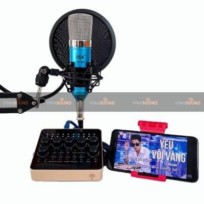 Combo ISK AT100 Soundcard V10 Bluetooth