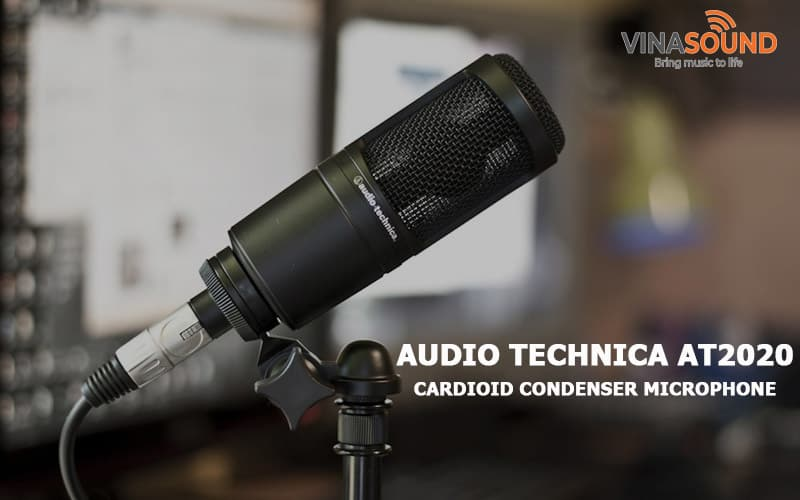 banner Audio Technica AT2020
