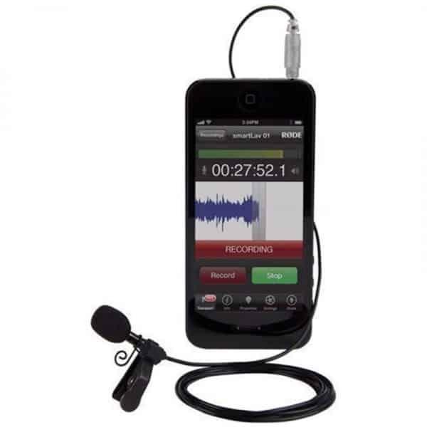 micro điện thoại cài áo Rode Smartlav Plus