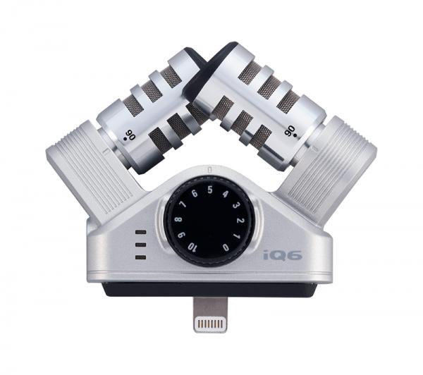 micro thu âm Zoom iQ6