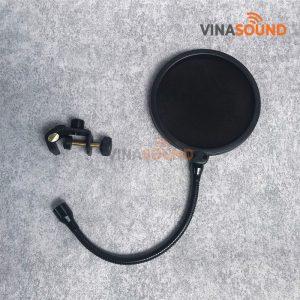 Màn lọc âm popfilter Samson-PS04 | Ảnh: Vinasound.vn