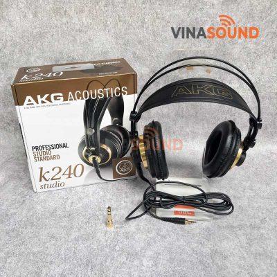 Trọn bộ AKG k240 Studio | Ảnh: Vinasound.vn