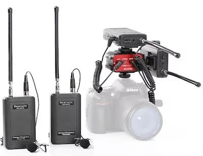 2. Saramonic Dual Wireless Lavalier Microphone Bundle