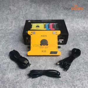 Trọn bộ Soundcard XOX K10 Jubilee | Ảnh: Vinasound.vn