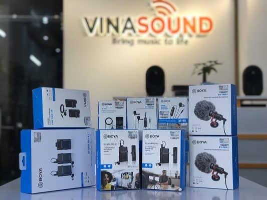 Vinasound sản phẩm BOYA - Vinasound.vn