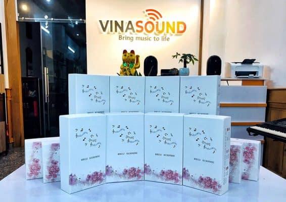 Micro hát live V7 tại Vinasound - Vinasound.vn