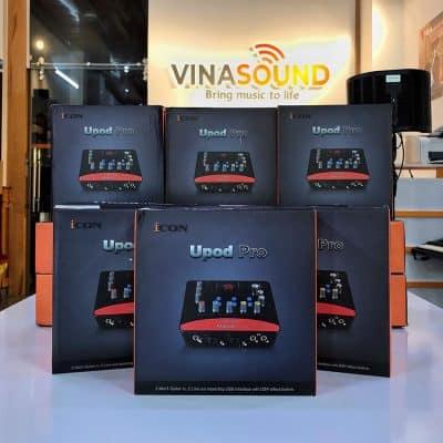 Soundcard Icon Upod Pro tại Vinasound - Vinasound.vn