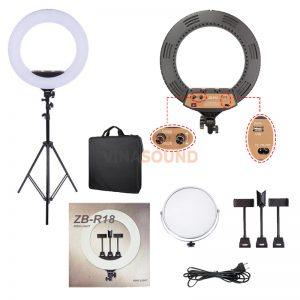 Trọn bộ Đèn LED Ring ZB-R18