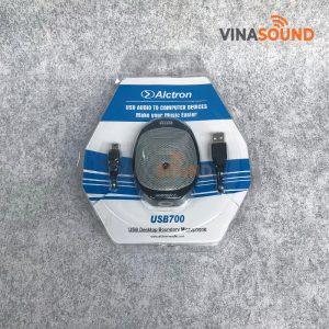Trọn bộ micro họp trực tuyến Alctron USB-UM700   Ảnh: Vinasound.vn