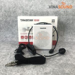 Trọn bộ máy trợ giảng Takstar E300W - Ảnh: Vinasound.vn