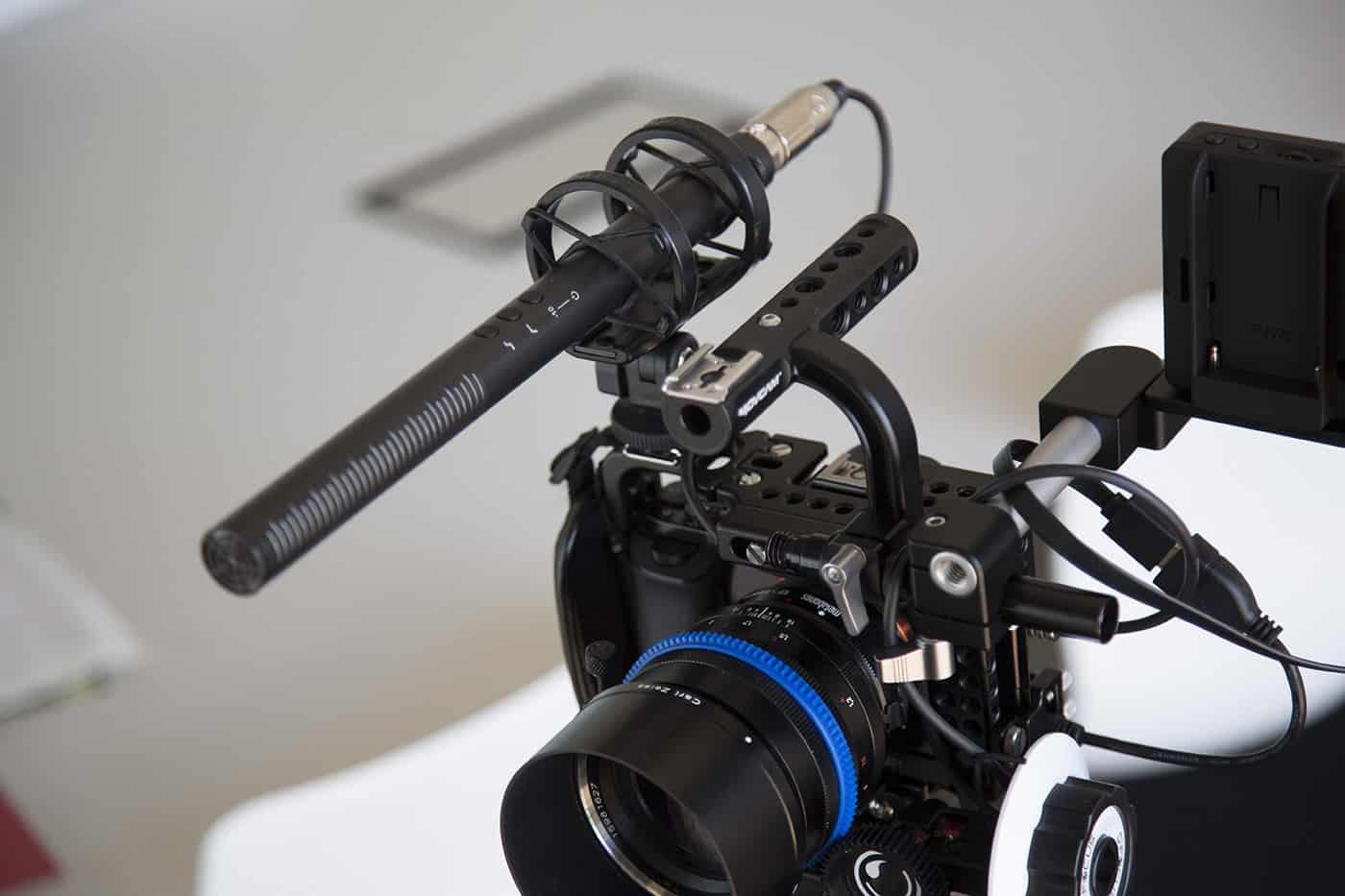 Rode NTG4+ tương thích với các máy ảnh, máy quay phim