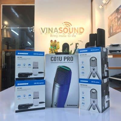 Microphone thu âm hãng Samson - Vinasound.vn