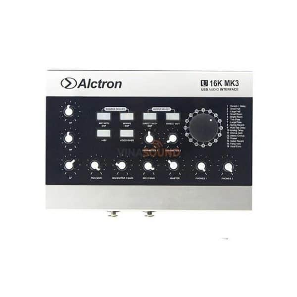 Soundcard Alctron U16K MK3