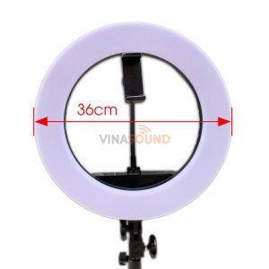 đèn led livestream HQ-14 Size 36cm
