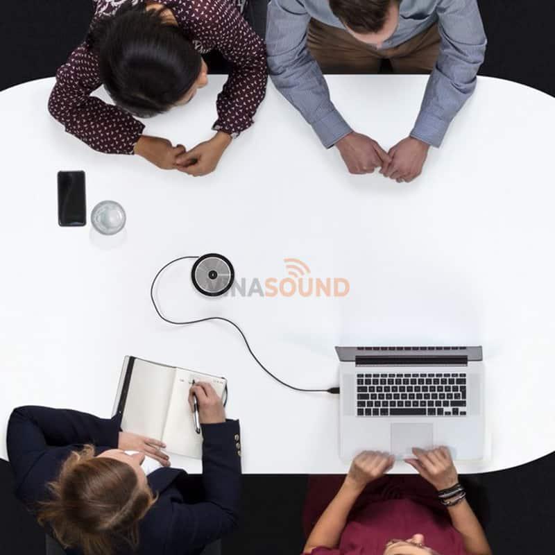 Sennheiser SP10 ML sử dụng trong các phòng họp với dây USB