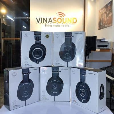 Tai nghe kiểm âm Audio Technica tại Vinasound | Vinasound.vn