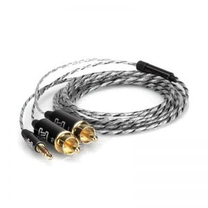 Cáp Hosa Drive Stereo Breakout 3.5mm TRS to Dual RCA