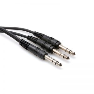 """Cáp Hosa Y Cable 1/4"""" TRS to Dual 1/4"""" TRS"""