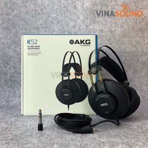 Trọn bộ AKG K52 | Ảnh: Vinasound.vn
