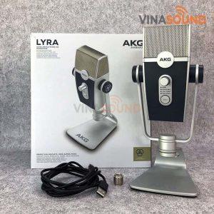 Trọn bộ AKG Lyra | Ảnh: Vinasound.vn