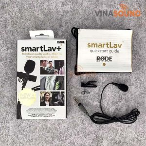 Trọn bộ RODE SmartLav Plus | Ảnh: Vinasound.vn