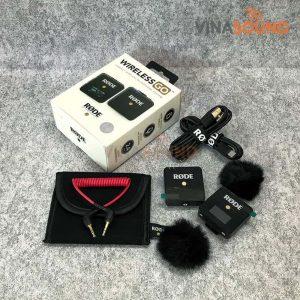Trọn bộ RODE Wireless Go | Ảnh: Vinasound.vn