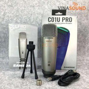 Trọn bộ Samson C01U Pro | Ảnh: Vinasound.vn