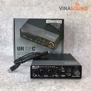 Trọn bộ Steinberg UR22C | Ảnh: Vinasound.vn