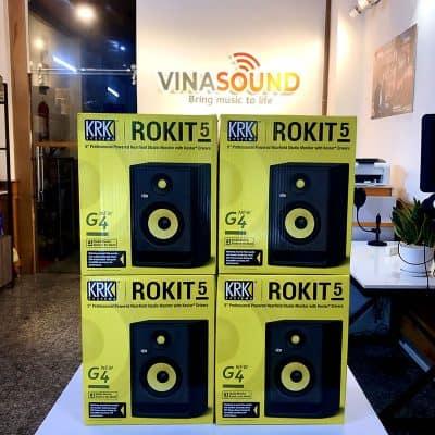 Loa kiểm âm Rokit KRK 5G4 tại Vinasound.vn