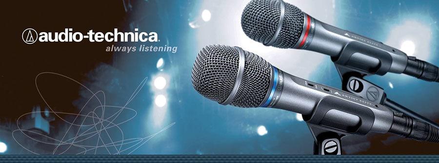 Banner hãng Audio Technica