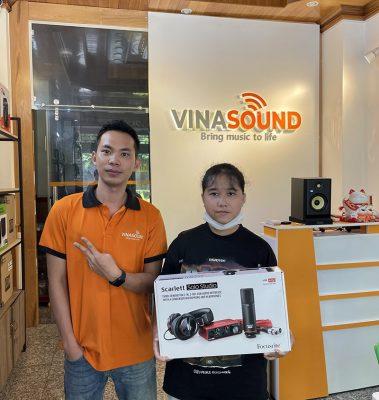 Anh Thư Giọng Hát Việt Nhí mua hàng tại Vinasound   Vinasound.vn